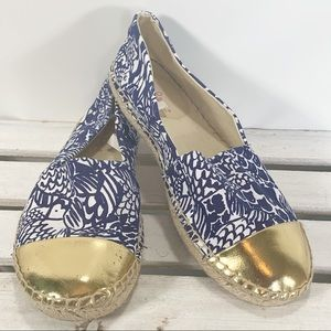 Lilly Pulitzer Target Upstream Espadrille Size 8.5